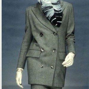 Double Breasted Jacket Coat Blazer  Plus Size 18W